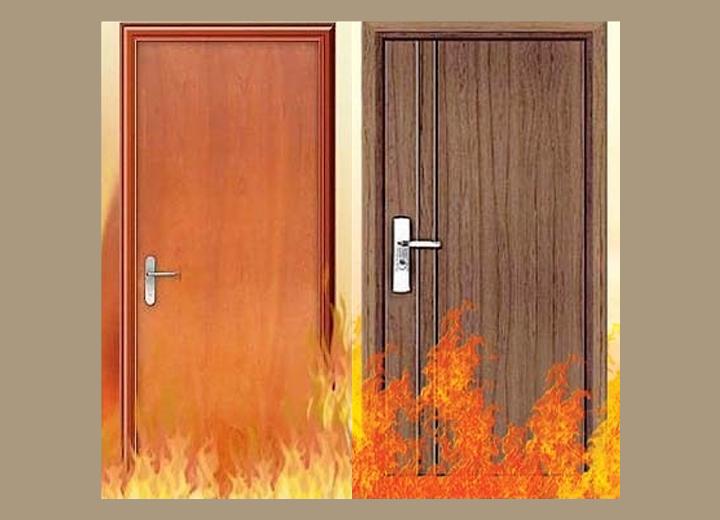 cửa gỗ chống cháy 4 - Báo giá cửa gỗ chống cháy