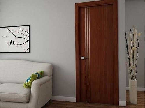 cửa gỗ nhựa giá rẻ 3 - Gạt bỏ quan niệm sai lầm về cửa gỗ công nghiệp