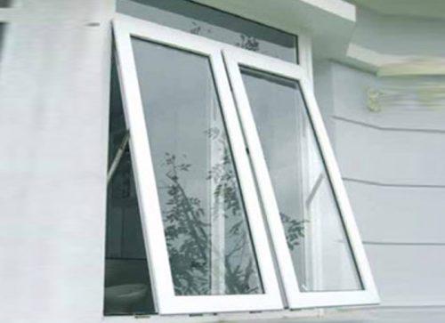 2 1 - Mẫu cửa sổ nhôm kính 4 cánh