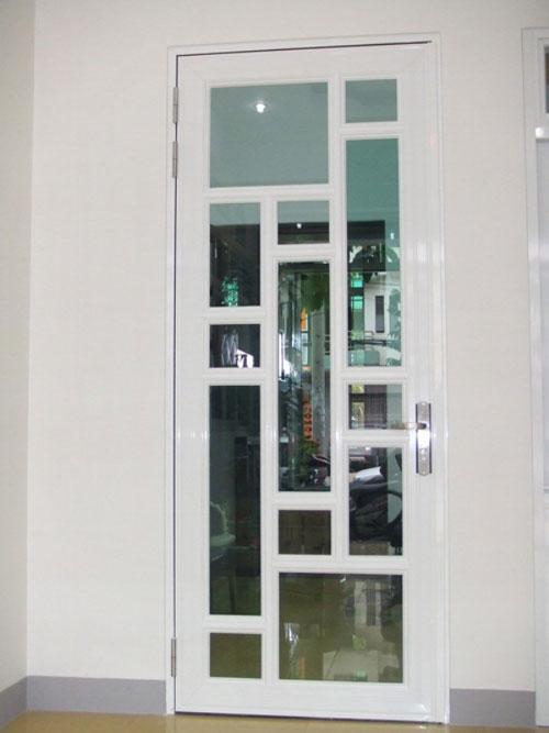 mau cua nhom kinh 1 canh - Mẫu cửa nhôm kính 1 cánh