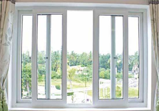 mau cua so nhom kinh 4 canh - Mẫu cửa sổ nhôm kính 4 cánh đẹp