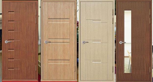 Các mẫu cửa gỗ nhựa