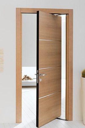 cua go loi nhua 300x450 - Cửa gỗ lõi nhựa