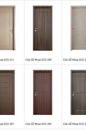 bao gia cua go nhua 300x450 - Báo giá cửa gỗ nhựa mới nhất năm 2019