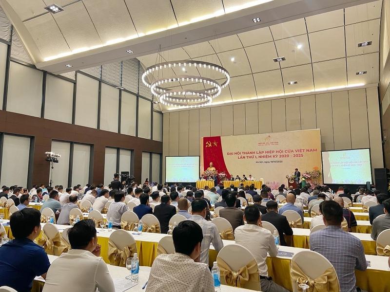 hiep hoi cua viet nam 01 - ATA GROUP đồng tài trợ Đại hội thành lập Hiệp hội Cửa Việt Nam